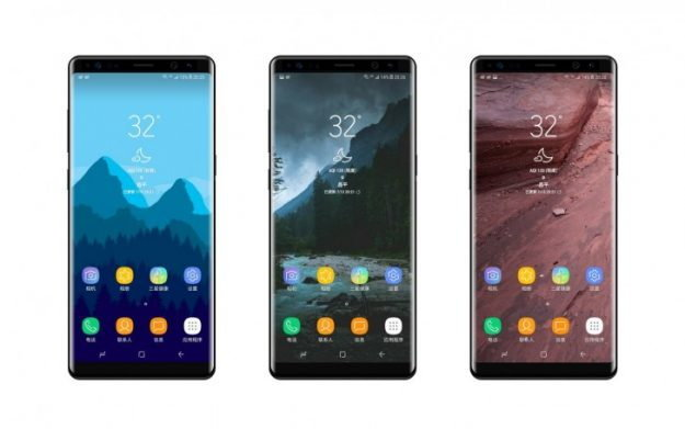 หลุด Galaxy Note 8 สี Deep Blue สีใหม่จาก Samsung