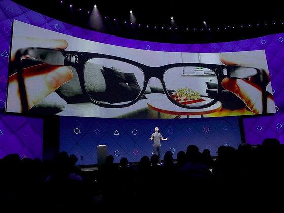Facebook ยื่นจดสิทธิบัตร แว่นตา AR