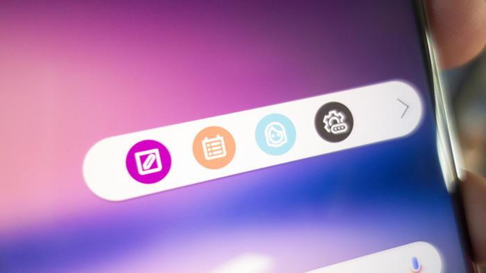 LG V30 Floating bar ฟีเจอร์ใหม่สุดเก๋ สำหรับคนชอบทางลัด