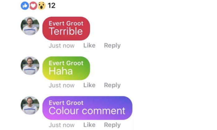 """Facebook เปิดให้ทดสอบ """"คอมเมนต์สี"""" เตรียมอัพเดตเข้าระบบเร็ว ๆ นี้"""