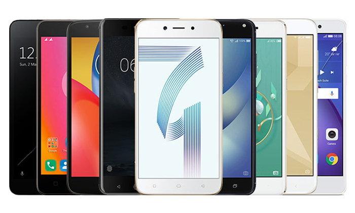 แนะนำสมาร์ทโฟน RAM 3GB ในราคาไม่เกิน 7,000 บาท เร็วแรงได้ในงบแค่หลักพัน(กันยายน)