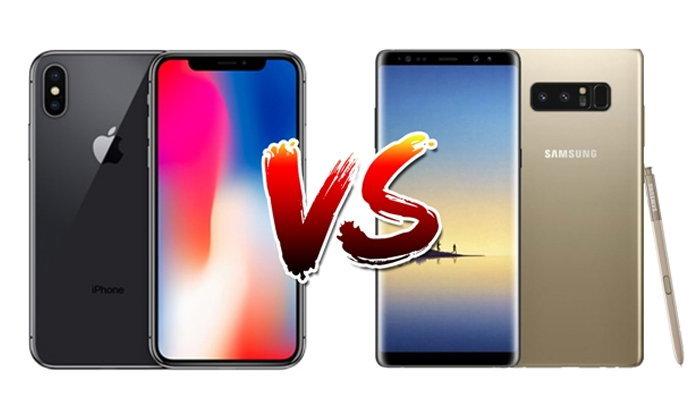 เปรียบเทียบ iPhone X และ Samsung Galaxy Note 8 สองสมาร์ทโฟนเรือธงโฉมใหม่ล่าสุด