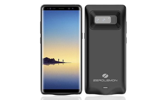 Zerolemon เปิดตัวเคส เพิ่มพลังแบตเตอรี่ให้กับ Galaxy Note 8 อีก 5500 mAh