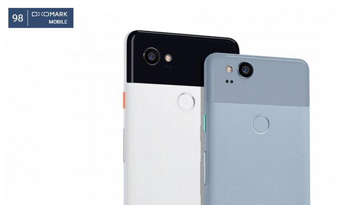 Google Pixel 2 และ Pixel 2 XL ครอบตำแหน่งกล้องดีที่สุดจาก DXOMark ด้วยคะแนน 98 คะแนน
