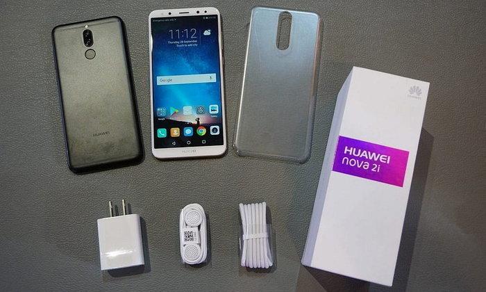 รีวิว Huawei nova2i สมาร์ทโฟน 4 กล้อง เน้นหน้าชัดหลังเบลอ จอใหญ่เกือบเต็มด้านหน้า