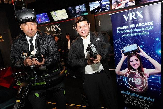 ร้าน VRX สวนสนุกโลกเสมือนจริงแห่งแรกในภูมิภาคเอเชียตะวันออกเฉียงใต้