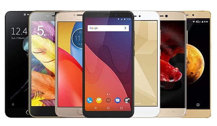 แนะนำ 7 สมาร์ทโฟนพร้อมเซ็นเซอร์สแกนลายนิ้วมือ ในราคาไม่เกิน 5,000 บาท