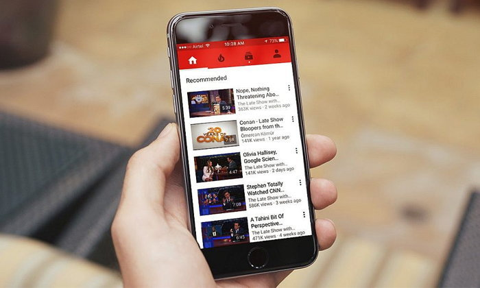 """YouTube"" แอปเจ้าปัญหาที่กินแบตเตอรี่บน iPhone iPad มากใช่เล่น"