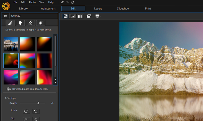 โปรแกรมแต่งภาพ PhotoDirector 8 Deluxe ของแท้แจกฟรี รีบด่วน