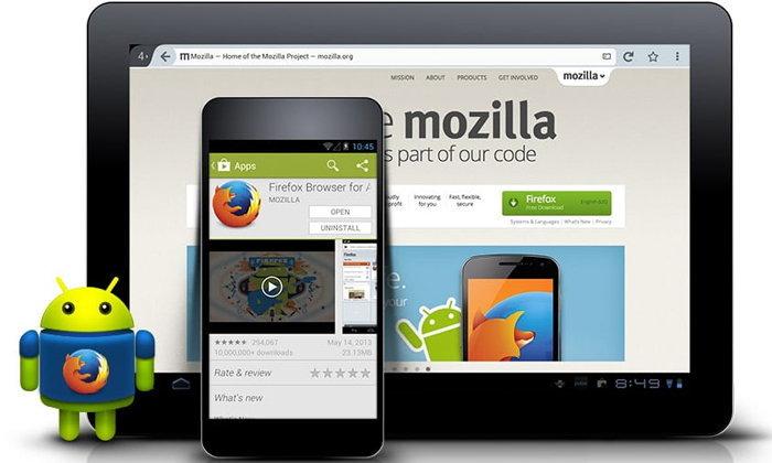 Firefox Android อัปเดทใหม่ เปลี่ยนหน้าตาตาม Firefox Quantum สำหรับ PC