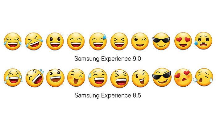 ชม Emoji แบบใหม่ของ Samsung Experience 9.0 ที่ดูดีและมีความเก๋ไปในตัว