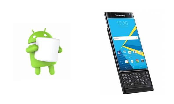 ข่าวดี Blackberry Priv เตรียมกิน Android Marshmallow ในช่วงปีใหม่