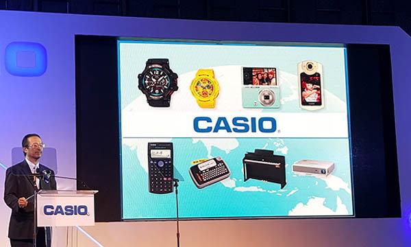 Casio เปิดตัว คาสิโอ มาร์เก็ตติ้ง ไทยแลนด์ พร้อมแนะนำ G-Shock MTG-G1000D และ Projector XJ-V2