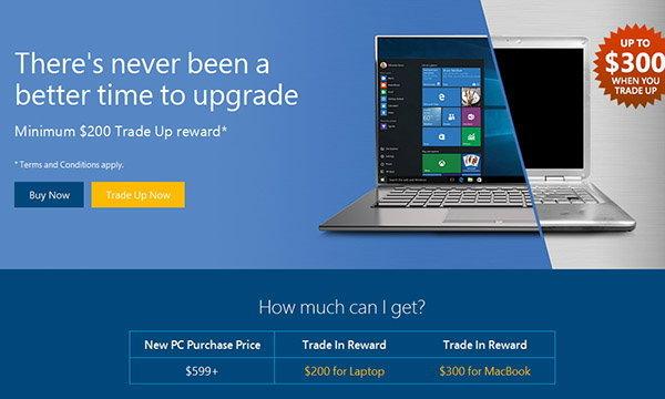 ทุ่มทุนไปไหม Microsoft เครื่องเก่าลดราคาเครื่องใหม่หลากหลายรายการ