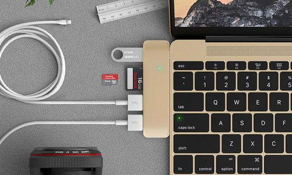 ไอเดียบรรเจิด มีคนคิด HUB USB-C สุดบางและเก๋เสริมความสามารถให้กับ Macbook