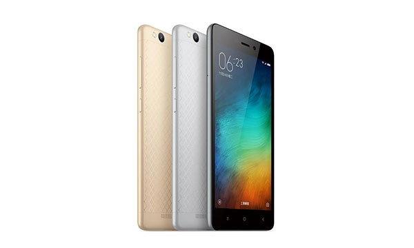 Xiaomi เปิดตัว Redmi 3 รุ่นใหม่ เน้นแบตอึดในราคาเพียง 3,800 บาท