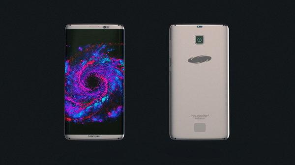 ภาพคอนเซปท์ Samsung Galaxy S8 ด้วยดีไซน์สวยล้ำ