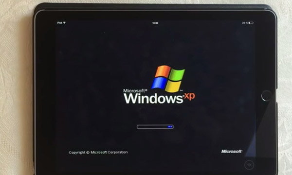 จะเป็นอย่างไรเมื่อ iPad สามารถใช้งาน Windows XP ได้
