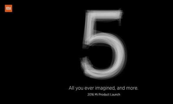 เผย Teaser ของ Xiaomi Mi5 ยืนยันเปิดตัว 24 กุมภาพันธ์นี้