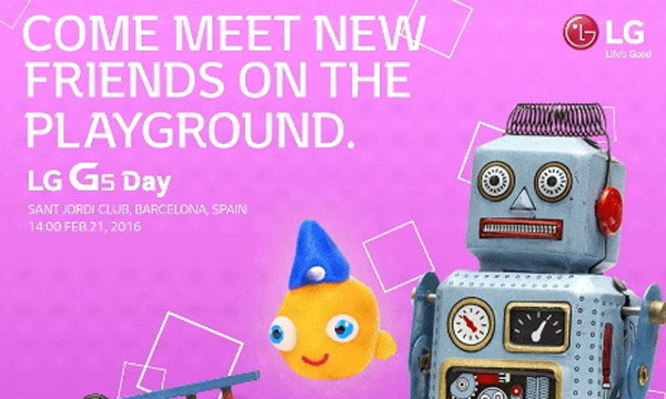 LG เผยภาพบัตรเชิญสำหรับงานเปิดตัว LG G5 ยืนยัน 21 กุมภาพันธ์นี้ เปิดตัว