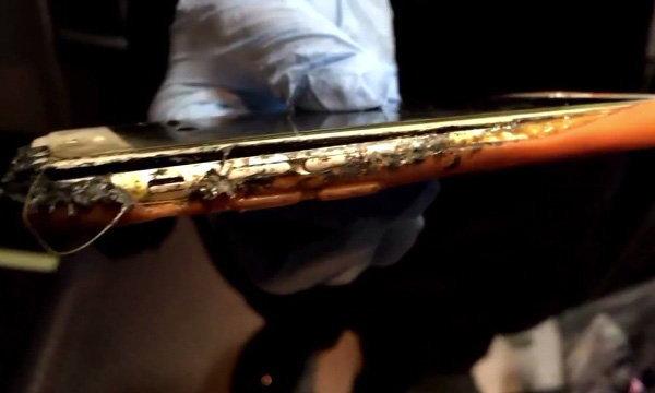 iPhone 6 ทำป่วน ไฟไหม้เฟรมตัวเครื่องเมื่อขึ้นบิน จนต้องจอดลงฉุกเฉิน