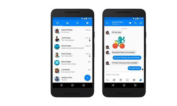 เฟสบุ๊ค ปรับปรุงหน้าตาของ Facebook Messenger ใน Android เน้นการออกแบบ Material Design