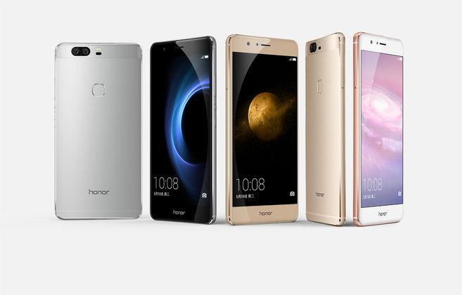 Huawei เปิดตัว Honor V8 สมาร์ทโฟนเรือธงแบรนด์ลูก มาพร้อมกล้องคู่ในราคาไม่แพง
