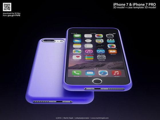 ภาพเรนเดอร์ iPhone 7 และ iPhone 7 Plus จากดีไซน์เนอร์คนดัง ที่ว่ากันว่า เหมือนของจริงมากที่สุด!