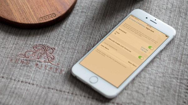 [iOS Tips] วิธีการเปิดใช้งาน Night Shift โหมดถนอมสายตาขณะใช้งาน iPhone ตอนกลางคืน