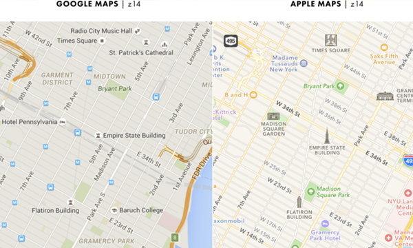 รู้ไว้เลือกใช้ได้ถูก จุดต่างของ Google Maps และ Apple Maps