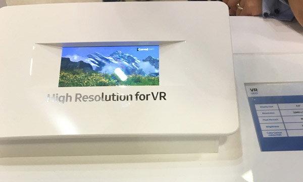 Samsung เตรียมทำมือถือจอความละเอียด 4K เพื่อใช้กับเทคโนโลยี VR