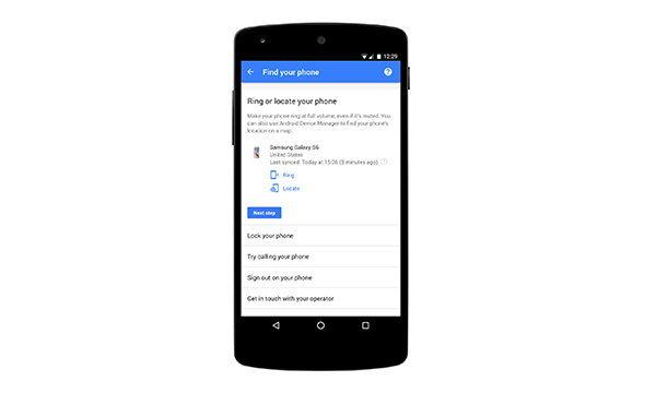 ใจดีได้อีก Google เพิ่มเครื่องมือหามือถือใน My Account (หา iPhone ได้ด้วยนะ)