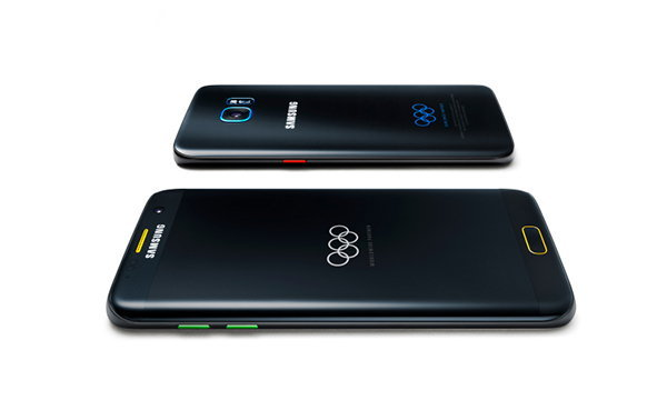 Samsung เปิดตัว Galaxy S7 edge Olympic Limited Edition ฉลองการแข่งขันกีฬาโอลิมปิก