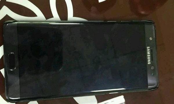 หลุดภาพแรกคาดว่าจะเป็น Samsung Galaxy Note 7