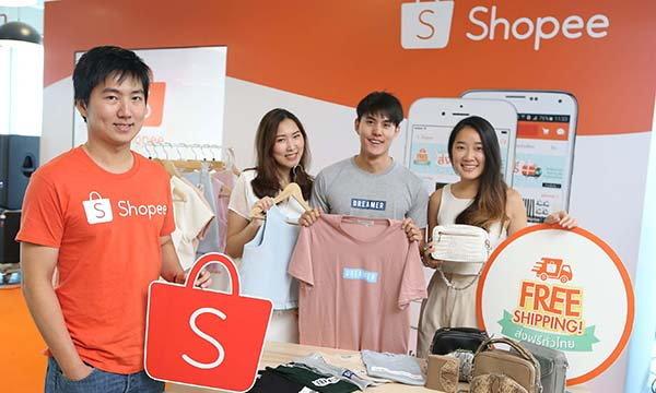 ช้อปปี้ (Shopee) ประกาศขยายการส่งฟรีทั่วไทย ตั้งเป้าครองอันดับหนึ่ง ตลาดออนไลน์บนมือถือ