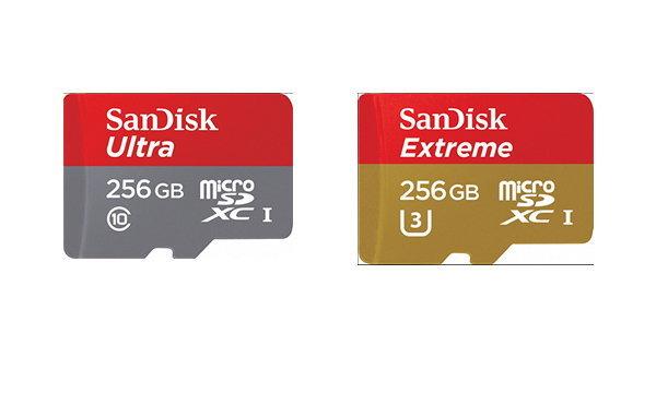 Sandisk แนะนำ Micro SD ขนาด 256GB รุ่น Ultra และ Extreme สำหรับคนที่ต้องการทั้งความเร็วและความจุ