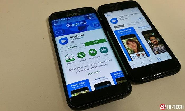 Google Duo พร้อมให้โหลดแล้วในระบบปฏิบัติการ Android และ iOS