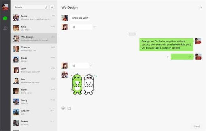 WeChat ออกแอปเวอร์ชัน Windows 10 แล้ว