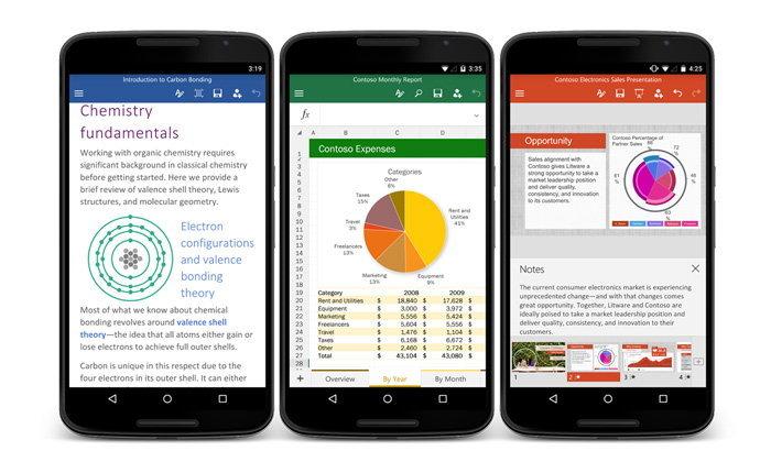 ขาทำงานบนมือถือ Android มีเฮ เมื่อ Office For Android รองรับการ Save งานผ่าน SD Card