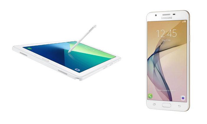 Samsung เตรียมส่ง Galaxy Tab A (2016) With Pen และ Galaxy J7 Prime ขายในไทย 3 ตุลาคมนี้