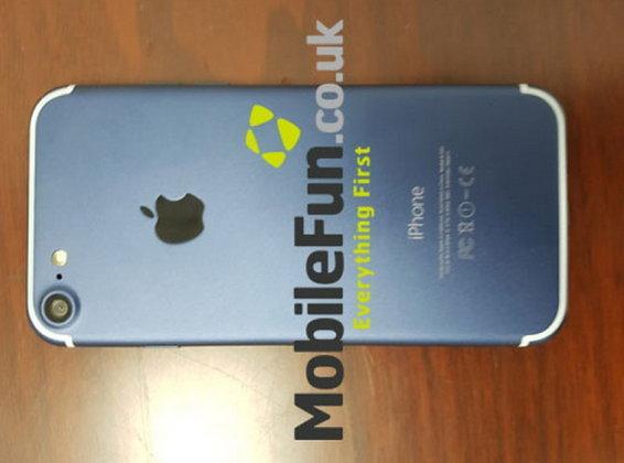 ลือล่าสุดก่อนเปิดตัวอย่างเป็นทางการ!! หลุด iPhone 7 รุ่นใหม่เครื่องสีฟ้า