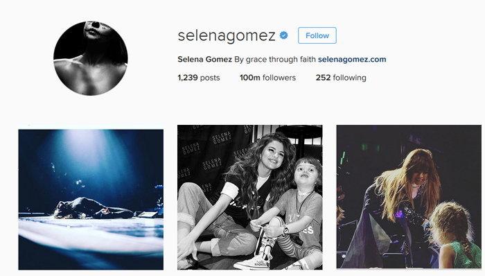 เปิด Instagram ของนักร้องสาว Selena Gomez  ไอจีที่มีคนตามมากที่สุดในโลก!!