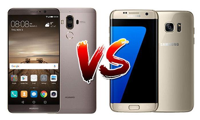 เปรียบเทียบ Huawei Mate 9 และ Samsung Galaxy S7 edge สองเรือธงกล้องเด่นแห่งปี!