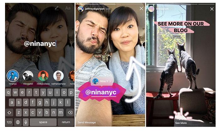 Instagram เพิ่มความสามารถของ Boomerang Video และ Link ใน Memories