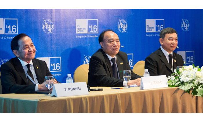 กสทช. โชว์ผลงานและวิสัยทัศน์ในงาน ITU Telecom World 2016