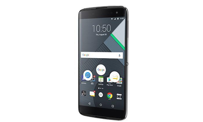 Blackberry เปิดตัว DTEK60 มือถือเน้นความปลอดภัย และ ไม่ใช่รุ่นสุดท้ายของ BB