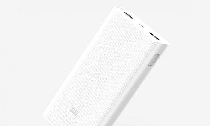 Xiaomi เปิตดัว Power Bank ขนาด 20000 mAh รองรับมาตรฐาน Quick Charge 3.0