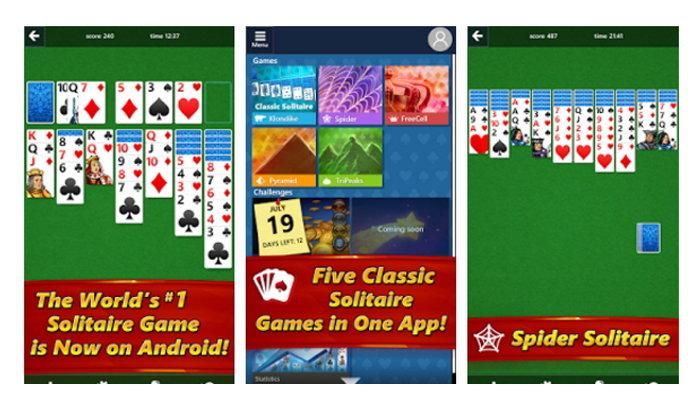 Microsoft ส่งเกมไผ่ Solitaire ให้เล่นได้บน iOS และ Android