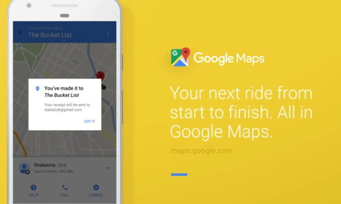 Google เพิ่มความสะดวก กดเรียก Uber ผ่าน Google Map ได้เลย