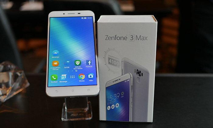 ASUS ประเทศไทยเปิดตัว ASUS Zenfone 3 Max เน้นความอึดของแบตเตอรี่แต่ไม่ทิ้งฟีเจอร์เด็ด